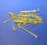 Иголки Starpins для Звездного неба, цвет желтый
